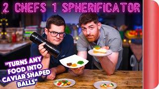 2 Chefs Test a Spherificator!