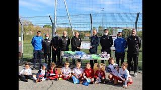 Remise du Label Jeunes Espoir FFF à Luynes Sports (14/10/2020)