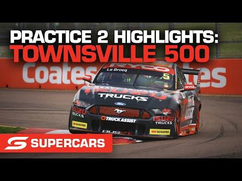 SUPERCARS 2021 NTI Townsville プラクティス2のハイライト動画
