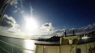 preview picture of video 'Tramonto a Porto Empedocle'