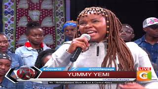 10 OVER 10 | Yemi Alade live on stage