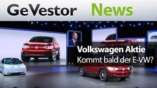Eile mit Weile – Volkswagen plant die Elektrifizierung seiner Marken und Modelle bis 2030