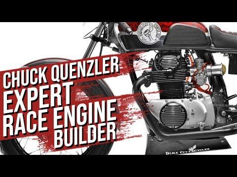 Performance Motorcycle Engine Builder Chuck Quenzler Interview