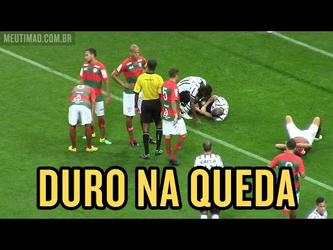 Duro na queda! Bruno Henrique assusta Tite