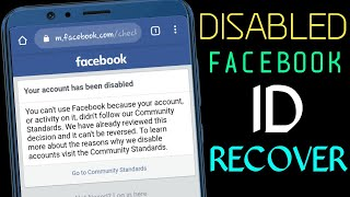 How to reopen go to community standards facebook disabled account || Your account has been disabled