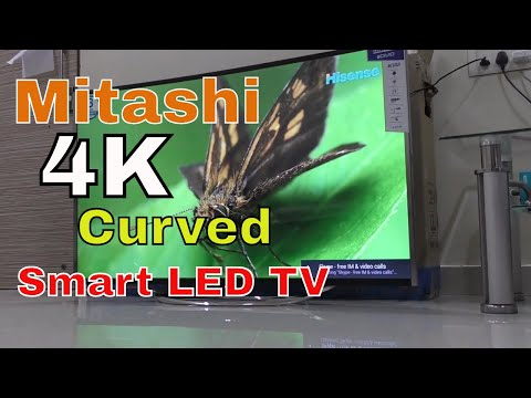 Mitashi 4K Smart Curved LED TV Review in Hindi – 55 inch, priced at Rs. 79,990