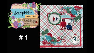 Scrap With Me # 1 - Making A 12x12 Digital Scrapbooking Page In Photoshop
