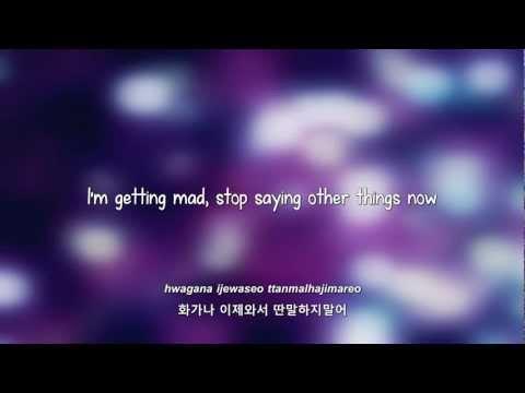 Supernova- Stupid Love lyrics [Eng.Rom.Han.]