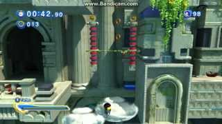 preview picture of video 'Sonic Generations: Rayman failt in der Sky Sanctuary Zone'