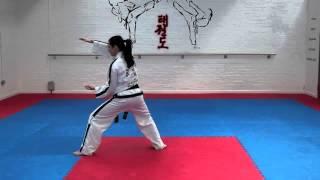 Joong Gun Tul and basic movements for grading to 3rd kup