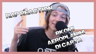 RAP REACTION • Aeroplanini Di Carta • Rkomi Ft. Izi