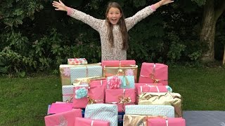 ISABELLES 11th BIRTHDAY MORNING PRESENT OPENING!!