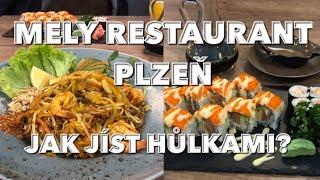 Mely restaurant Plzeň | Jak jíst hůlkami | recenze | Delikatesy