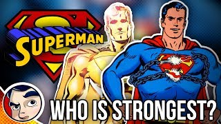 Superman 10 Strongest Ones in the Multiverse