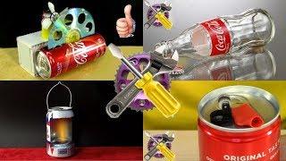 ЛУЧШИЕ ПРИМЕНЕНИЕ БАНОК с под Coca-Cola🥤