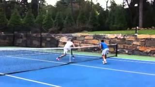 テニスジョコビッチがショートラリーでグランドスラム優勝?商品は犬?