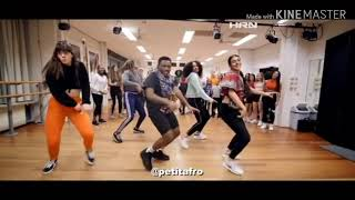 New Afro Sebene Dance Choreography From Petit Afro And His Students