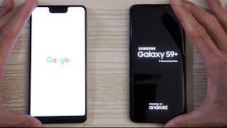 Google Pixel 3 XL vs Samsung S9 Plus - Speed Test!