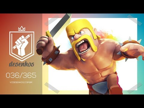 How To Draw Barbaro Clash Royale Kawaii 036365 Pekkaonline