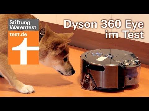 Test Dyson 360 Eye Saugroboter: Top oder Flop?