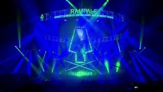 Camo and Krooked - Live @ Rampage 2014