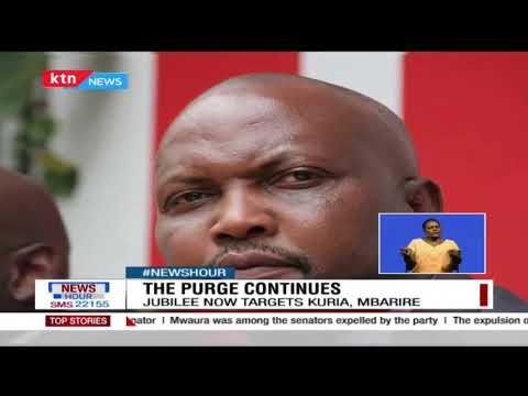 The Purge Continues: Jubilee party now targets Kuria & Mbarire, party to revisit cases of 5 Senators