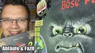 Das böse Buch bzw. das Böse Puzzle / Spiel (Kosmos) - ab 8 Jahren