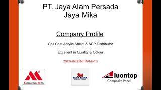 Video Company Profile PT. Jaya Alam Persada (Jaya Mika)