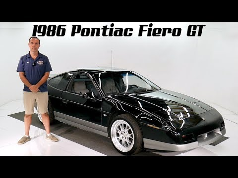 Video of '86 Fiero - QVZH