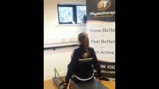 Shoulder Stability Exercises on the Reformer