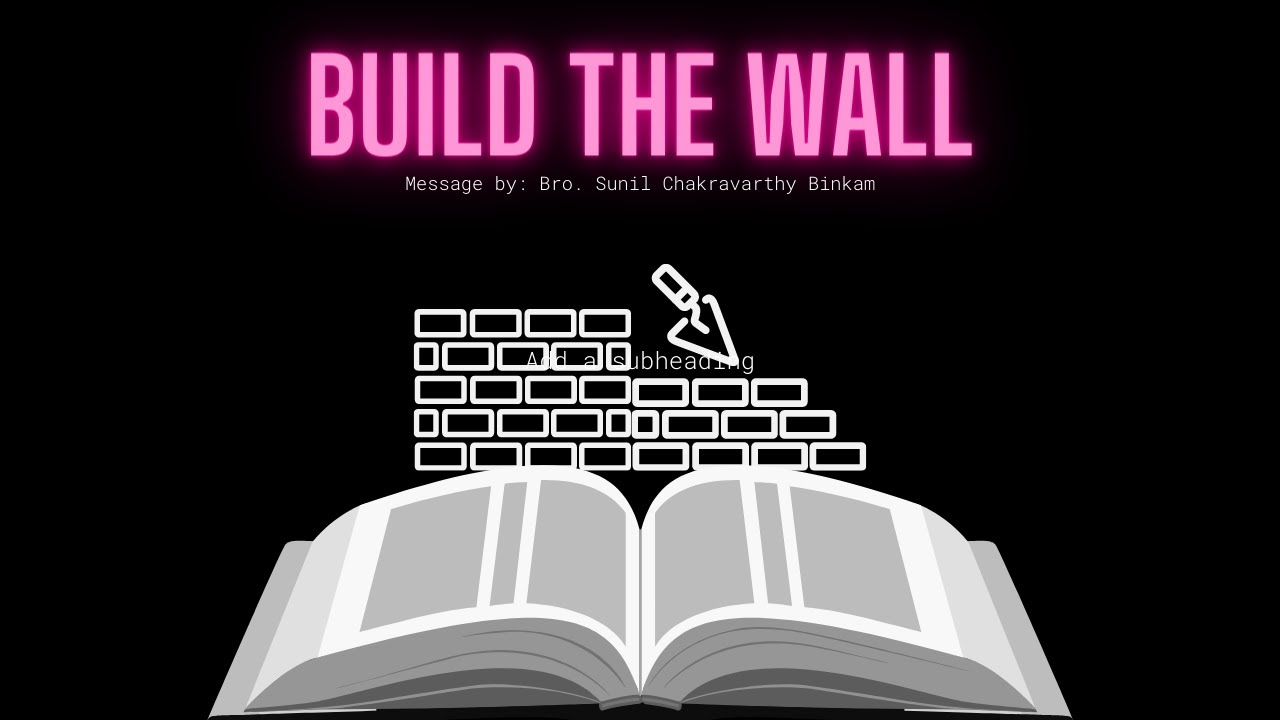 Repair your spiritual wall | lesson from the book of Nehemiah