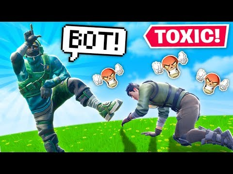 The Most *TOXIC* Player in Fortnite