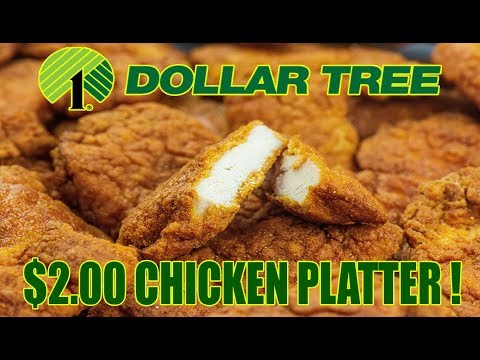 Dollar Tree $2.00 Chicken Platter – WHAT ARE WE EATING?? – The Wolfe Pit