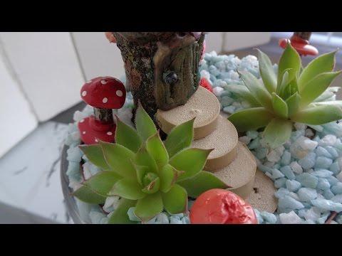 Mini jardín en una taza / Como hacer un Mini-jardín