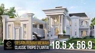 Video Desain Rumah Classic 2 Lantai Bapak Faozian di  Bandung, Jawa Barat