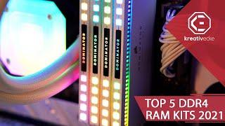 DARAUF SOLLTET ihr BEIM KAUF VON RAM achten! Die TOP 5 DDR4 RAM Module 2021!