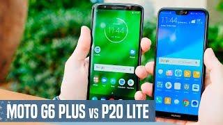 Moto G6 Plus vs Huawei P20 Lite