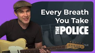 How to play Every Breath You Take by The Police (Guitar Lesson SB-224)