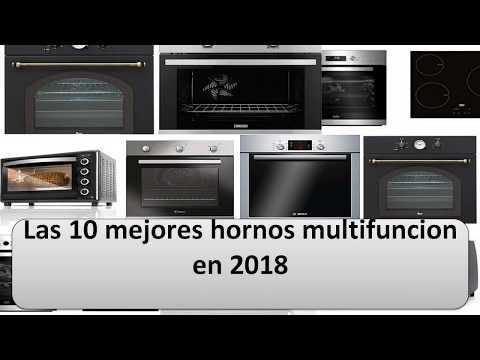 Las 10 mejores hornos multifuncion en 2018