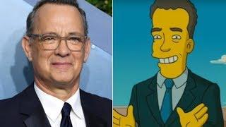 People Think The Simpsons Predicted Tom Hanks' Coronavirus Diagnosis