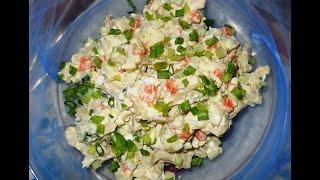салат из соленых груздей и овощей