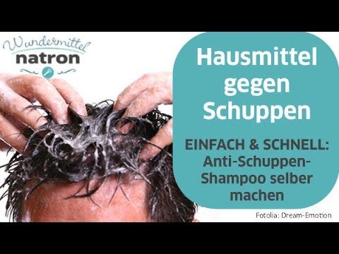 Anti Schuppen Shampoo selber machen