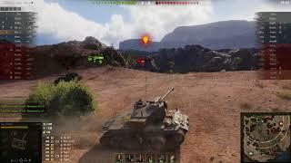 T26E4 SuperPershing, Эль-Халлуф, Стандартный бой
