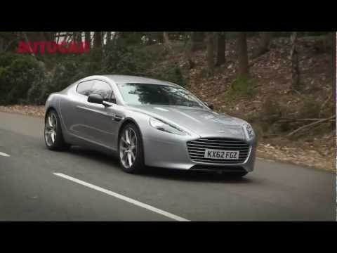 NEW Aston Martin Rapide S - flat-out review by autocar.co.uk