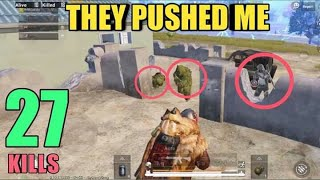 They Shouldn't Do That | 27 Kills  Squad | PUBG Mobile