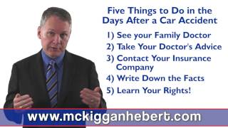 What To Do After A Car Crash In Halifax Nova Scotia | 5 Things To Do Immediately