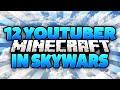 Youtuber Battle In Skywars