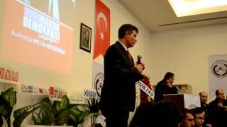preview picture of video 'Av. Prof. Dr. Metin FEYZİOĞLU'nun Hukuk Demokrasi Söyleşisi Kütahya'da'