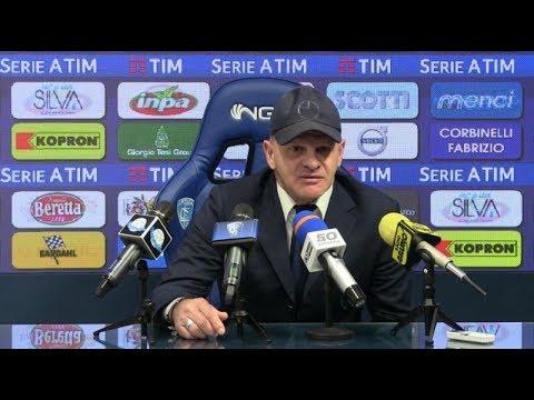 Preview video Le parole di mister Iachini alla vigilia di Cagliari-Empoli