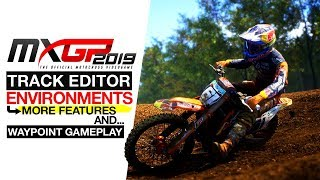MXGP 2019 - Track Editor Environments & More Features - Waypoint Gameplay
